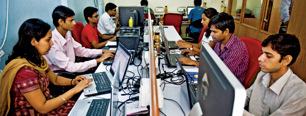 Programmierer in Indien