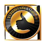 YUHIRO 3-fach Garantie