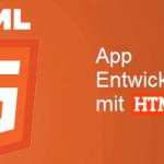 Web App Entwicklung mit HTML5