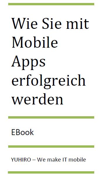 """Kostenloses E-Book """"Mit Mobile Apps zum Erfolg"""""""