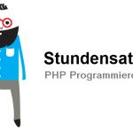 Stundensatz PHP Programmierer/ PHP Programmierung