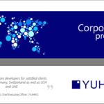 Das YUHIRO Firmenprofil als PDF ist da