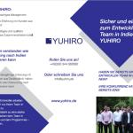 YUHIRO Flyer Kampagne