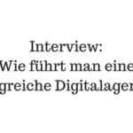 """Interview mit hanseflow Geschäftsführer Philip Czupras """"Wie führt man eine erfolgreiche Digitalagentur"""""""