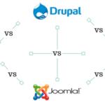 WordPress vs Joomla vs Drupal vs TYPO3