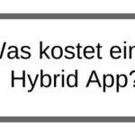 Was kostet eine PhoneGap Hybrid App?