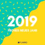 YUHIRO wünscht ein frohes neues Jahr