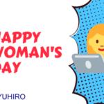 YUHIRO wünscht einen Happy Woman's Day